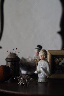 ましろドレスのピンクッションドール-antique pin cushion doll