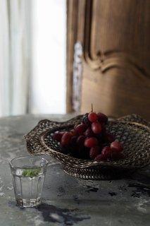盛り籠 用の美-vintage wire basket