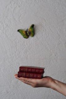 赤い洋書-antique small book