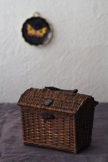 BB!バスケットonバスケット-antique french basket