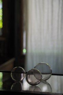 泡と混ざりて-vintage glass float ball