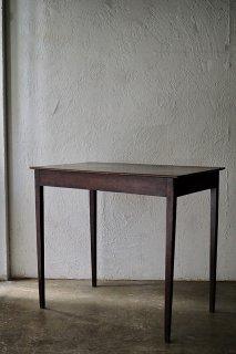 リーンなテーブル-antique mahogany table