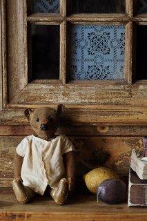 愛称テディ、グーテンターク-antique steiff teddy bear