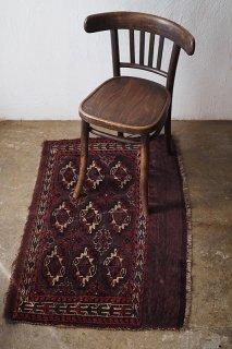 トライバル柄ラグ-old carpet