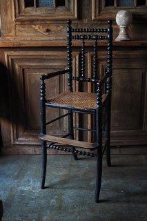 スピンドルバックチャイルドチェア-antique child chair