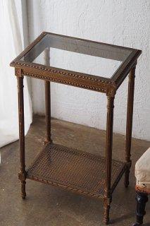 ルイ16世スタイルサイドテーブル-antique rectangle side table