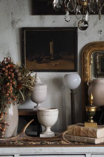 陰翳礼讃 still life -antique oil painting frame