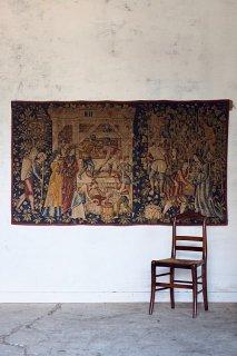 オービュッソン産タピスリー-vintage french tapisserie