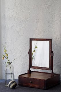 シンプルな鏡台-antique dressing table