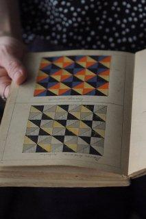 テキスト 相似性デザインブック-antique design notebook