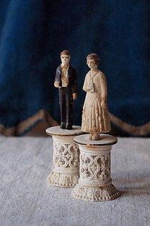 ファーストコミュニオンの二人-catholic pair doll