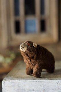 お疲れさんCheerゼンマイくま-vintage clock work bear