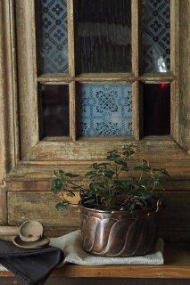こじんまり銅ポット-antique copper pot