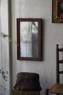 曖昧な反射 長方形鏡-antique rectangle french mirror