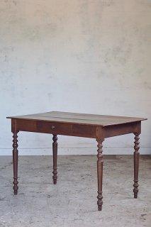 無垢材 集いテーブル-antique oak french table