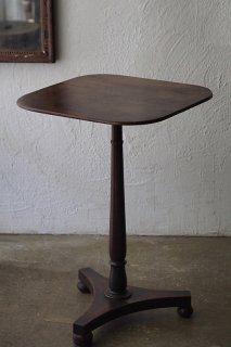 イギリス サパーテーブル-antique tilt top side table