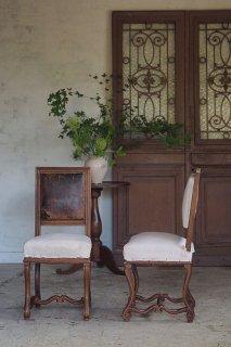 クロムウェルスタイル椅子-antique oak dining chair
