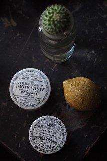 グリザイユ歯磨き粉入れ-antique pottery tooth paste case