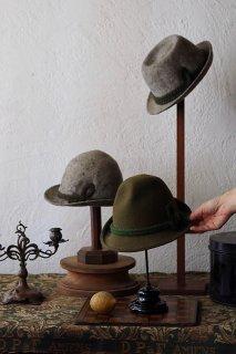 暖かチロルフェルト帽-vintage tylorean hat