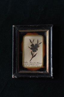 スミレのルリケール-antique glass frame