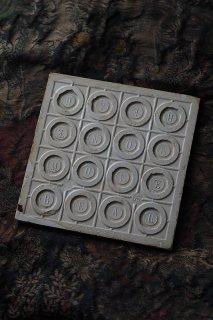 モントロー窯タイル-antique faience tile