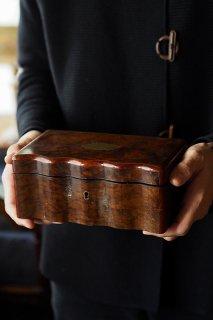 コフレ・ド・仕舞い箱-antique wood box