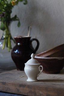 召しませ、口溶けムースを-antique ceramic mousse pot