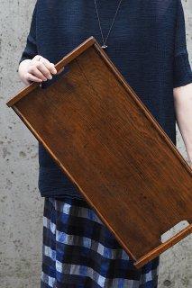 オークのサービングトレイ-antique oak tray