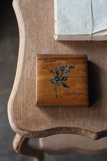 モシュリンヌ 数字合わせゲームの箱-antique wood box