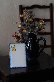 ご注文を メニュースタンド-vintage pottery menu stand