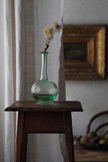 手吹き、ガラスの揺らぎ-antique glass carafe