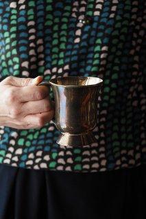 一つ鈍た輝きの事-antique copper tankard