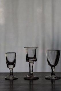 リキュールガラスカップ 三種三様-liqueur glass cup
