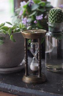 砂落ちて時測り-antique sand glass
