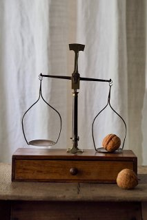 静バランス吊り天秤-antique balance scale