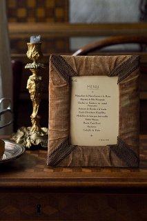 カルトナージュフォトスタンド-antique cartonnage photo frame