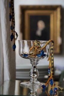 カチカチ、、ガラスフリンジが鳴る-vintage glass fringe
