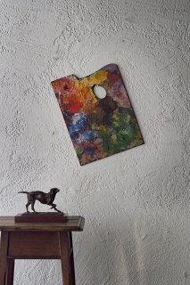 色に任せて 色の階層-antique wood palette