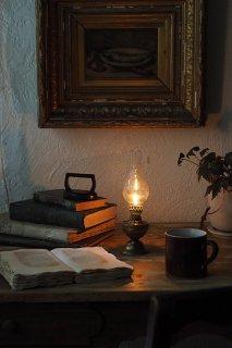 オイルランプ 佳き夜-antique oil lamp