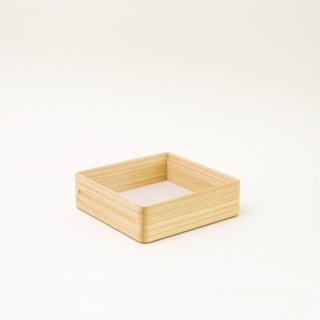 浅箱 正方形 (キリ)