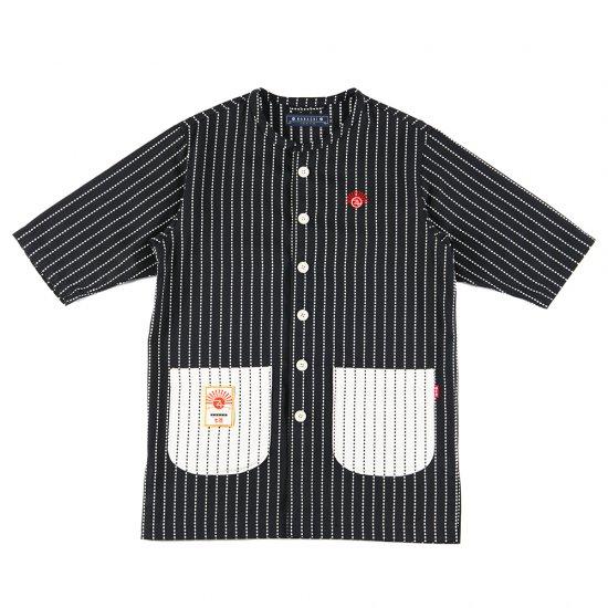 ナナシ Wasshoi Shirt JKT BLACK
