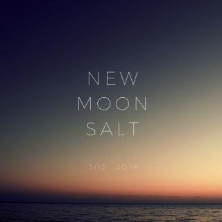【雑貨】*5/15  牡牛座新月限定*NEW  MOON  SALT〜女神の開放〜
