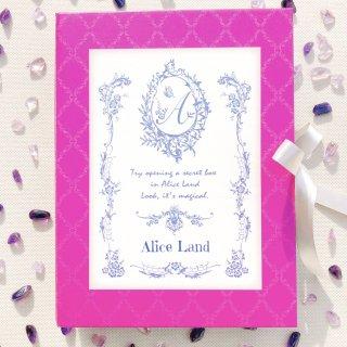 【雑貨】Alice Land  original reading box〜あなたからのメッセージブック(後編)〜