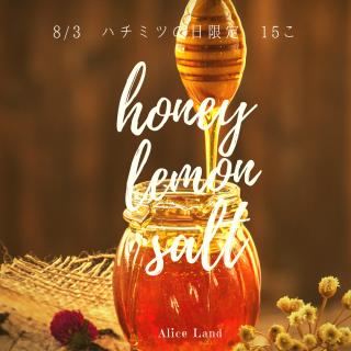 【食品】*数量限定*honey lemon salt (200g)