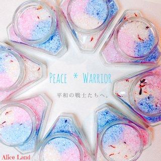【雑貨】Peace  Warrior salt  (114g)
