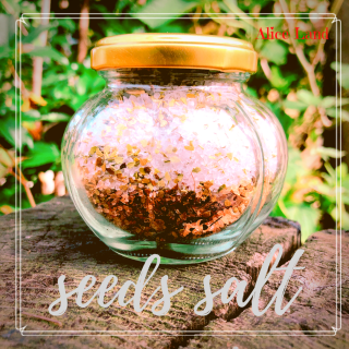 【食品】seeds salt (150g)