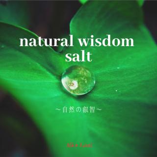 【雑貨】natural wisdom salt〜自然の叡智〜 (150g)
