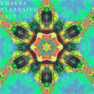 【雑貨】chakra cleansing salt〜green〜(240g)