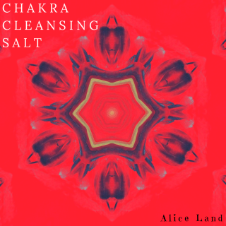 【雑貨】chakra cleansing salt〜red〜(240g)