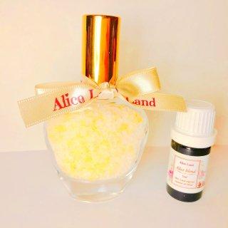 【雑貨】Perfume chakra salt (第3チャクラ) & Alice Land original  オーガニック精油 (33g+5ml)